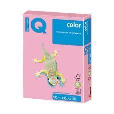 Бумага цветная A4 160г/м2 пастельный розовый 250л. OP174