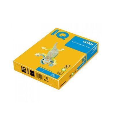 Бумага цветная A4 160г/м2 насыщенный жёлтый 250л. CY39 (АН1198)
