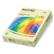 Бумага цветная A4 160г/м2 светло-зелёный 250л. GN27