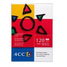 Бумага для цветной печати 4CC A4 120 г/м2 500л
