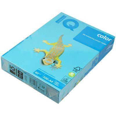 Бумага цветная насыщенный А4 80г/м2 500л. AB48 синий (A4.80.IQI.AB48.500)