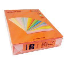 Бумага цветная A4 80г/м2 насыщенный оранжевый 500л. OR43