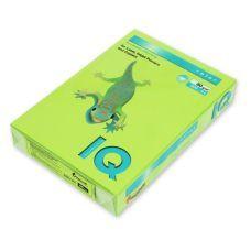 Бумага цветная A4 160г/м2 насыщенный лимонный 250л. LG46