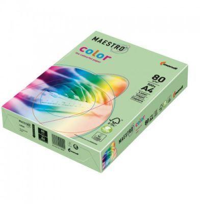 Бумага цветная A4 80г/м2 средний серый 500л GR21 (АН0058)