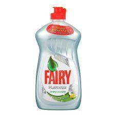 Жидкость для мытья посуды FAIRY PLATINUM 480мл, лимон, лайм