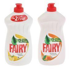 Жидкость для мытья посуды FAIRY 500мл, лимон-апельсин