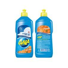 Жидкость для мытья посуды GALA 500мл, лимон/апельсин