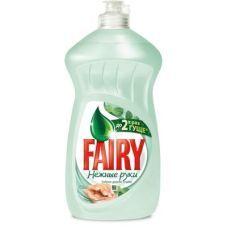 Жидкость для мытья посуды FAIRY 500мл, Нежные ручки, Чай/мята