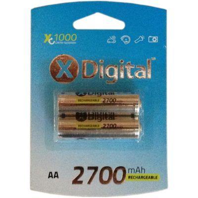 Аккумулятор X-DIGITAL HR06 Ni-MH 2700mAh (HR03 2700)