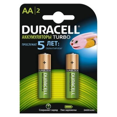 Аккумулятор DURACELL HR6 (AA) 2500 mAh (5000678)