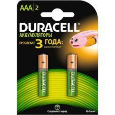 Аккумулятор DURACELL HR03 (AAA) 750mAh
