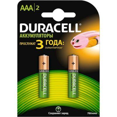 Аккумулятор DURACELL HR03 (AAA) 750mAh (5000186)