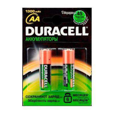 Аккумулятор DURACELL HR6 (AA) 1300 mAh (5000177)