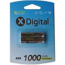 Аккумулятор X-DIGITAL HR03 Ni-MH 1000mAh