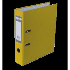 Папка-регистратор А4 односторонняя 70мм желтый сборная