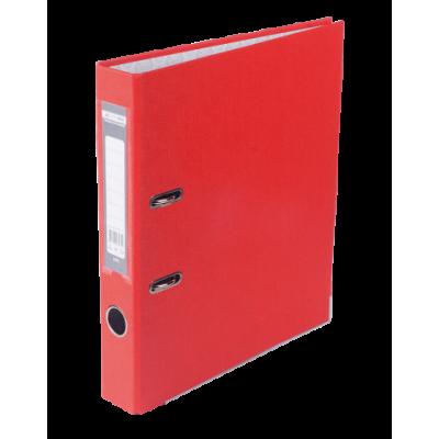 Папка-регистратор А4 односторонняя 50мм красный сборная (BM.3012-05c)