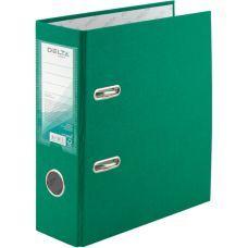 Папка-регистратор А5 односторонняя 75мм зеленый