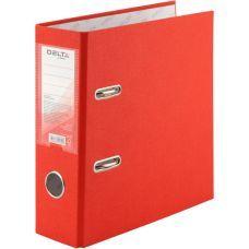 Папка-регистратор А5 односторонняя 75мм красный