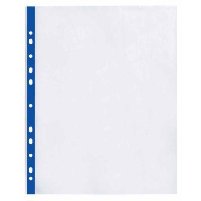 Файлы А4+ Optima 40мкм фактура глянец с синей лентой 100шт. (O35108-02)