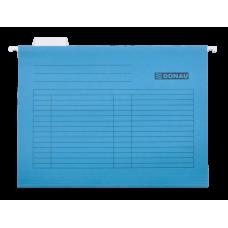 Файл подвесной А4 картон синий