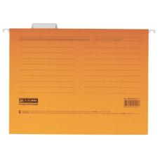 Файл подвесной А4 с индексами картон оранжевый