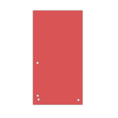 Индекс-разделитель 10,5х23см (100шт.) картон червоний (8620100-04PL)