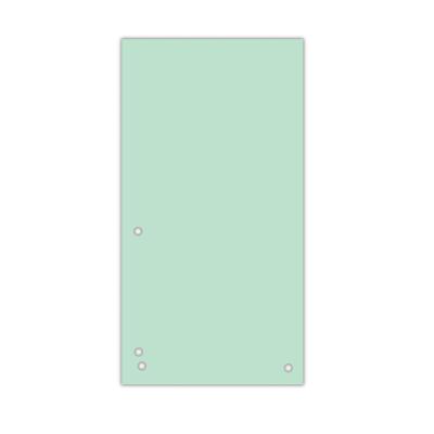 Индекс-разделитель 10,5х23см (100шт.) картон зелений (8620100-06PL)