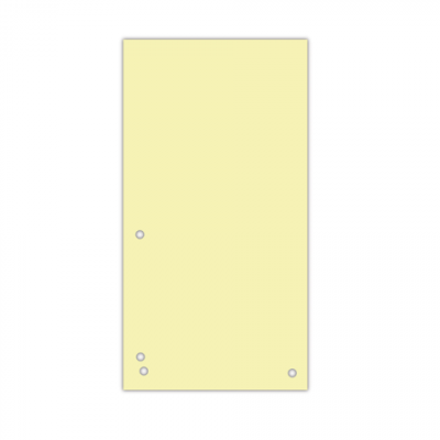 Индекс-разделитель 10,5х23см (100шт.) картон жовтий (8620100-11PL)