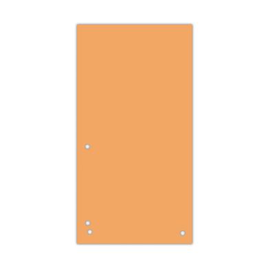 Индекс-разделитель 10,5х23см (100шт.) картон помаранчевий (8620100-12PL)