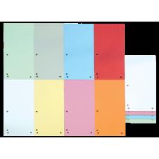 Индекс-разделитель 10,5х23см (100шт.) картон ассорти