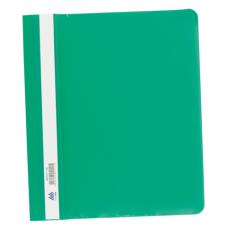 Скоросшиватель пластиковый А5 PP зеленый
