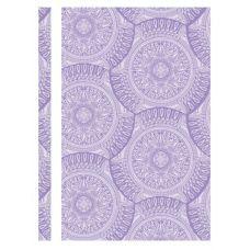 Скоросшиватель пластиковый А4 Калейдоскоп фактура глянец фиолетовый