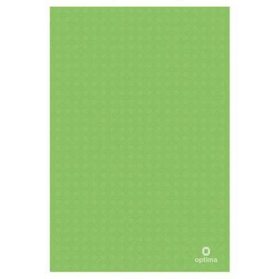 Папка-уголок А4 пластиковая с отделением для визиток полупрозрачная зеленый (E31640-04)