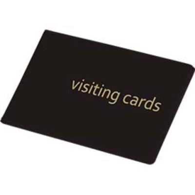 Визитница на 24 визиток PVC черный (0304-0001-01)