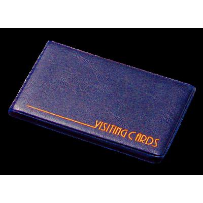 Визитница на 24 визиток винил темно-синий (0304-0002-02)
