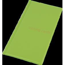 Визитница на 96 визиток PVC салатовый
