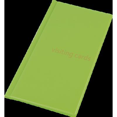 Визитница на 96 визиток PVC салатовый (0304-0005-28)