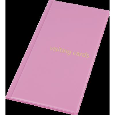 Визитница на 96 визиток PVC фиолетовый (0304-0005-29)