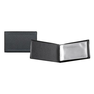 Визитница на 20 визиток черный (2501-01-A)