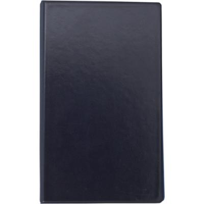Визитница на 200 визиток на кольцах винил темно-синий (BM.3561-03)