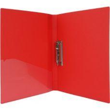 Папка А4 с боковым прижимом Economix красный