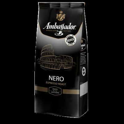 Кофе в зернах Ambassador Nero, пакет 1000г