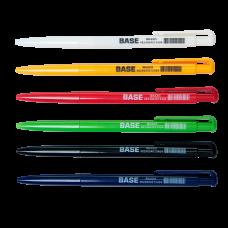 Ручка шариковая автомическая BASE 0.7мм JOBMAX синий