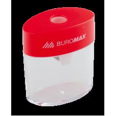Точилка пластиковая c контейнером на 1 лезвие, Buromax