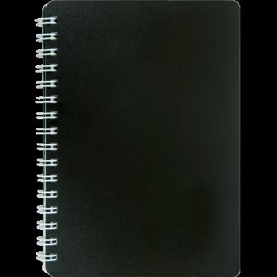 Блокнот на пружине Classic пластиковая обложка А6 (BM.2589-001)