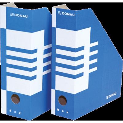 Накопитель для бумаг А4, 100 мм, синий (7648001PL-10)