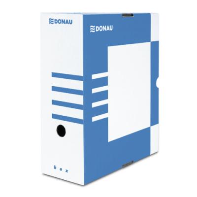 Бокс для архивации документов,120 мм, DONAU. синий (7662301PL-10)