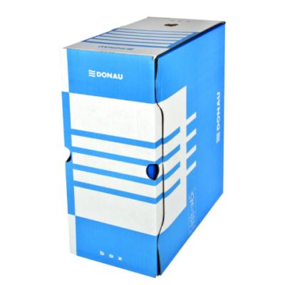 Бокс для архивации документов,155 мм, DONAU, синий (7663301PL-10)