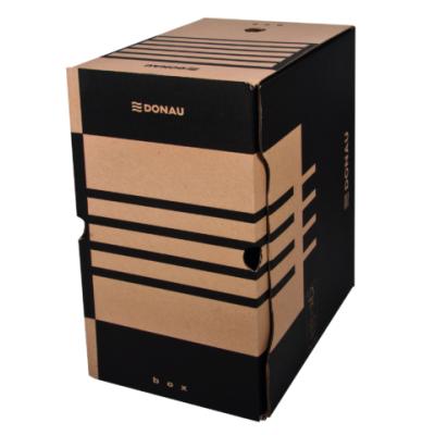 Бокс для архивации документов, 200 мм, коричневый (7663401PL-02)