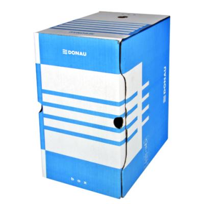 Бокс для архивации документов, 200 мм, синий (7663401PL-10)